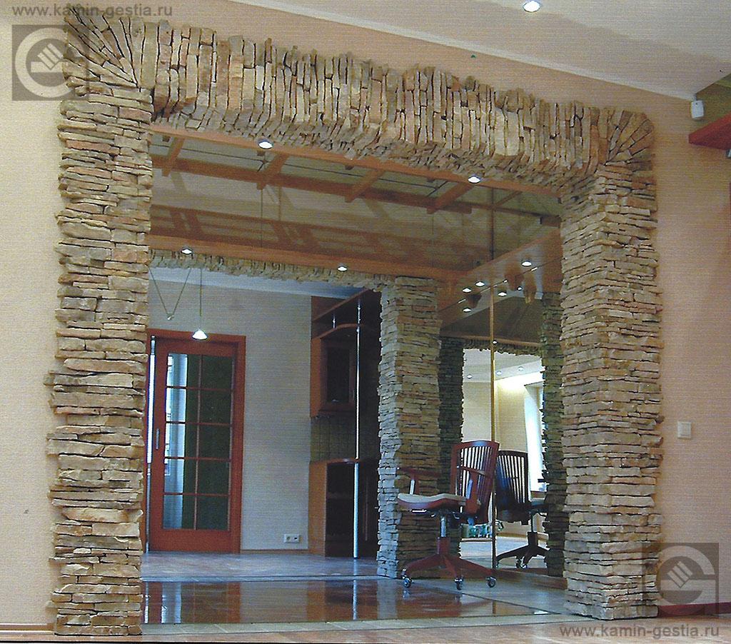Отделка арки декоративным камнем (4) - строим дом своими рук.